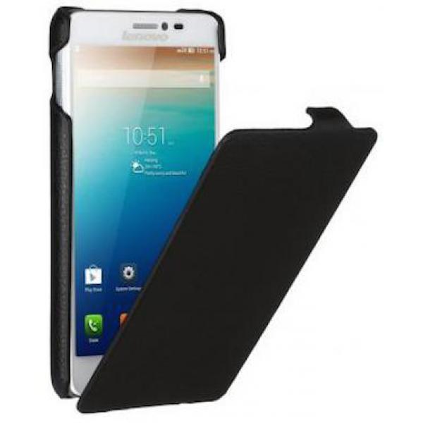 Чехол книжка Armor для телефона Lenovo S860 (Черный)