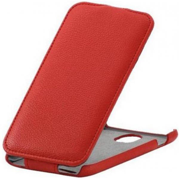 Чехол книжка SlimFit для телефона Lenovo A880 (Красный)