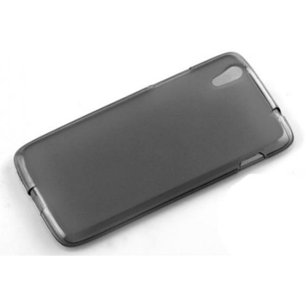 Чехол, задняя накладка, бампер для смартфона Lenovo Vibe X S960 (Серый, прозрачный)