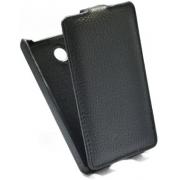 Чехол книжка Armor для смартфона Nokia X2 (Черный)