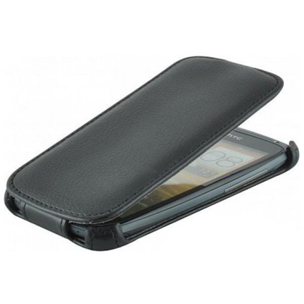 Чехол книжка Armor для телефона Philips S388 (Черный)