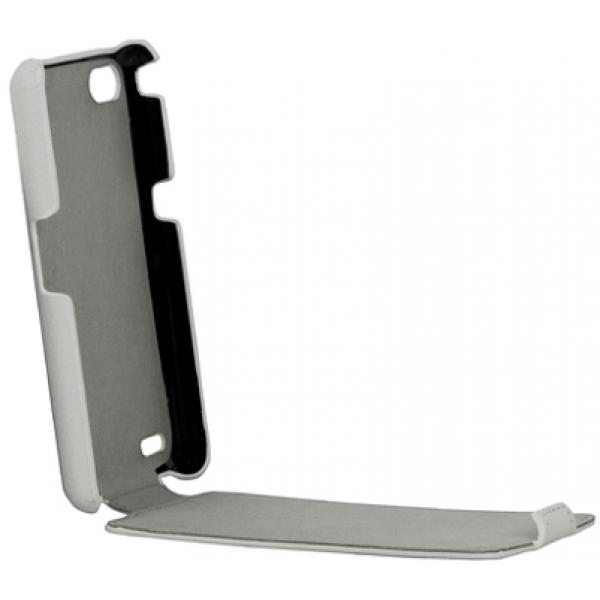 Чехол книжка SlimFit для телефона Philips Xenium W6610 (Белый)