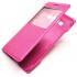 Чехол книжка View Case для для смартфона Samsung Galaxy A5 SM-A500F, DS (Малиновый)