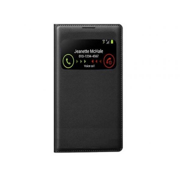 Чехол книжка View Case для смартфона Samsung Galaxy Ace 4 (Черный)