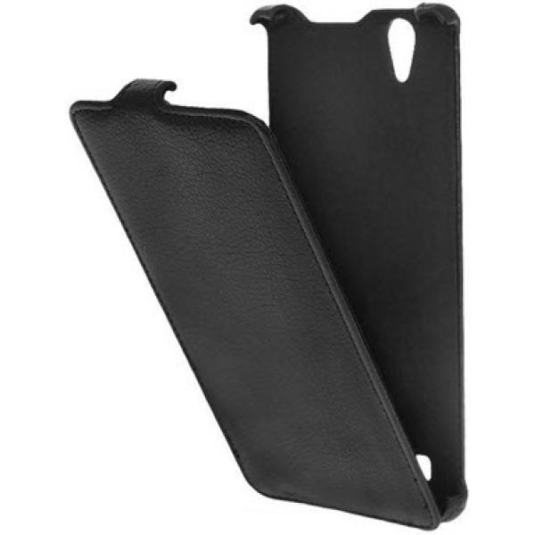 Чехол книжка Armor для телефона Sony Xperia T2 (Черный)