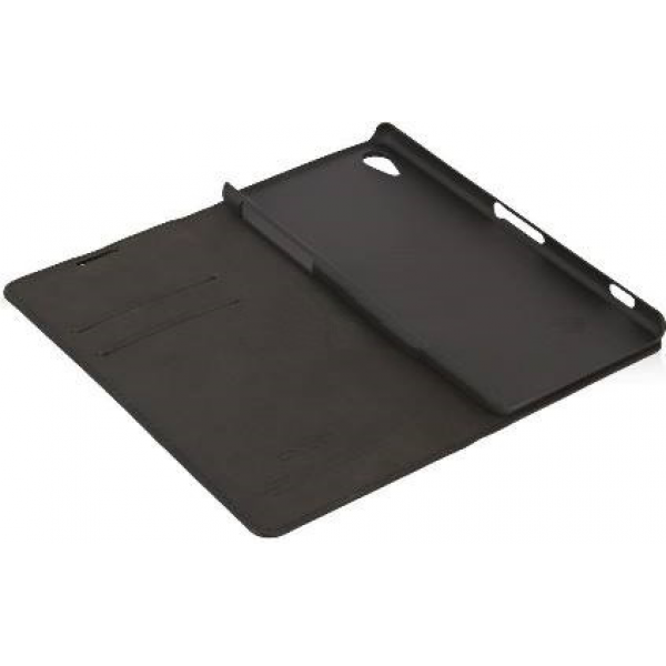 Чехол книжка SlimFit для телефона Sony Xperia Z2 (Черный)