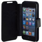 Универсальный чехол книжка для смартфонов, телефонов 3.5 дюймов (Черный)