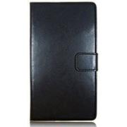Универсальный чехол книжка для смартфонов, телефонов 4.2 дюймов (Черный)