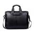 Сумка кожаная портфель мужская с ручкой для ноутбука, документов Polo