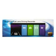 Видеорегистратор HD Dual Lens Driving Recorder