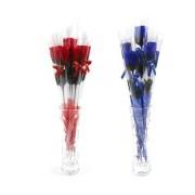 Мыло сувенирное в виде розы (Красный)