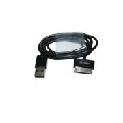 Кабель синхронизации USB с функцией заряда для Samsung Galaxy Tab (Черный)