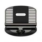 Универсальный держатель в автомобиль для смартфона с держателем провода Remax RC-FC2 (Черный)