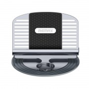 Универсальный держатель в автомобиль для смартфона с держателем провода Remax RC-FC2 (Серебристый)