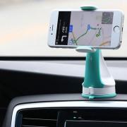 Универсальный держатель в автомобиль для смартфона Remax RM-C15 (Голубой)