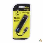 USB-HUB RITMIX CR-2406 /  черный,  USB 2.0,  4 порта