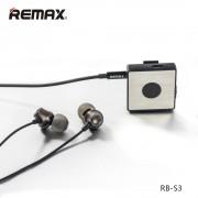 Беспроводные наушники с микрофоном гарнитура Remax Bluetooth BT4.1 RB-S3 (Черный)