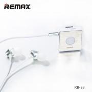 Беспроводные наушники с микрофоном гарнитура Remax Bluetooth BT4.1 RB-S3 (Белый)