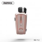Беспроводная гарнитура Remax Bluetooth Earphone RB-T12 Розовый