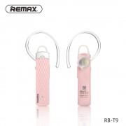 Беспроводная гарнитура Remax Bluetooth Earphone T9 (Розовый)