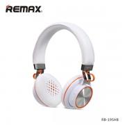 Наушники стерео Bluetooth 4.0 гарнитура Remax RB-195HB белый