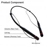 Беспроводные наушники с микрофоном гарнитура Remax Bluetooth Neckband Earphone RB-S6 (Черный)