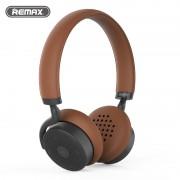 Беспроводные высококачественные Премиум наушники Remax Bluetooth RB-300HB (Коричневый)