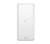 Внешний аккумулятор Baseus M36 Wireless Charger 10000 mAh PPALL-M3602 (Белый)