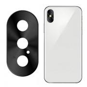 Защитная накладка на камеру для iPhone X Max (Черный)