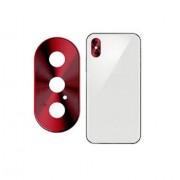 Защитная накладка на камеру для iPhone X Max (Красный)