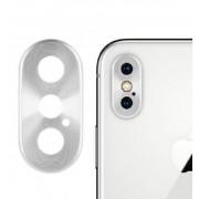 Защитная накладка на камеру для iPhone X Max (Серебро)