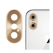 Защитная накладка на камеру для iPhone X Max (Золотой)