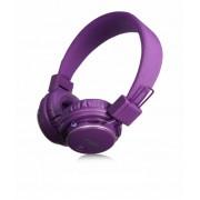 Беспроводные Bluetooth наушники с MP3 плеером NIA-Q8 (Фиолетовый)