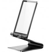 Алюминиевая подставка со стеклом Baseus Suspension glass SUGENT-XF01 (Черный)