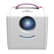 Детский LED проектор Q2 (Розовый)