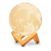 Ночник светильник настольный Луна 15 см с аккумулятором и touch функцией