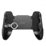 Игровой контроллер gamepad триггер для телефона 3 в 1 PUBG и FORTNITE (Серый)