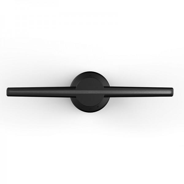 Голографический 3D проектор вентилятор AD светодиодный (Черный)