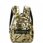 Рюкзак с пайетками ушки зайца (Золотой)