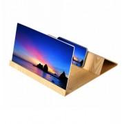 Увеличитель 3D экрана телефона деревянный (Коричневый)