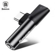 Аудиоадаптер разветвитель Baseus L41 Type-C CATL41-01 (Черный)