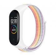Нейлоновый ремешок для фитнес-браслета Xiaomi Mi Band 3, Mi Band 4 (Радужный)