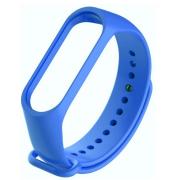Ремешок силиконовый для Xiaomi Mi Band 3/Mi Band 4 (Светло-синий)