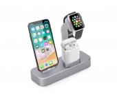 Док-станция COTEetCI Base19 CS7201 для Apple Watch, iPhone, AirPods (Серый)
