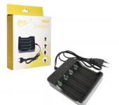 Автоматическое зарядное устройство 4 слота для Li-Ion аккумуляторов типа 18650 HD-8031 (Черный)