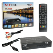 Цифровая приставка SKYBOX GOLD DVB-T3 (Черный)