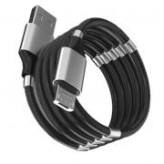 Кабель с магнитиками USB magnet MR-36 Micro 1m (Черный)