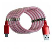 Кабель с магнитиками USB magnet MR-36 Micro 1m (Красный)