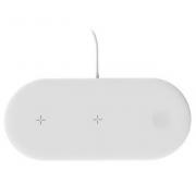 Беспроводное зарядное устройство 3в1 OJD-48 для iPhone, iWatch и Airpods (Белый)