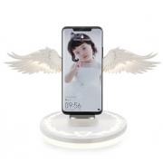 Беспроводное зарядное устройство Крылья ангела (Белый)